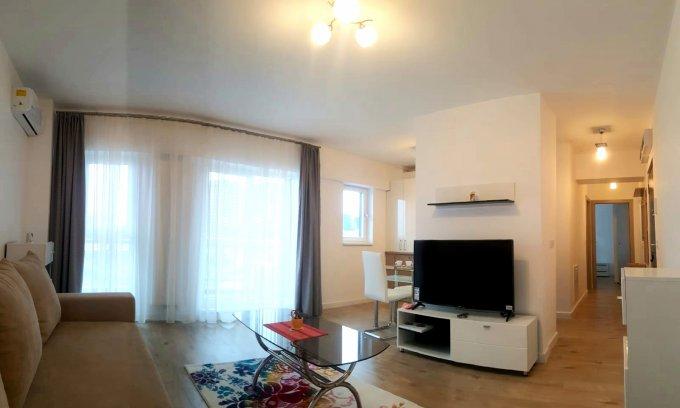 inchiriere Apartament Bucuresti cu 2 camere, cu 2 grupuri sanitare, suprafata utila 55 mp. Pret: 570 euro negociabil. Incalzire: Centrala proprie a locuintei. Racire: Aer conditionat.