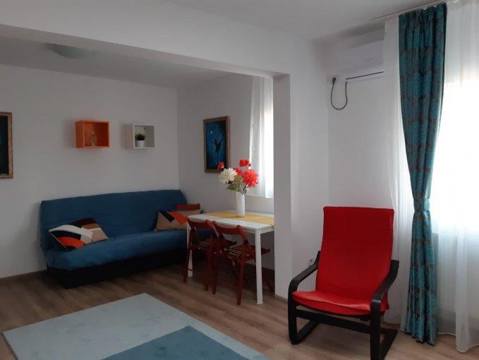 Apartament inchiriere Cismigiu cu 2 camere, etajul 2 / 2, 1 grup sanitar, cu suprafata de 60 mp. Bucuresti, zona Cismigiu. Mobilat.