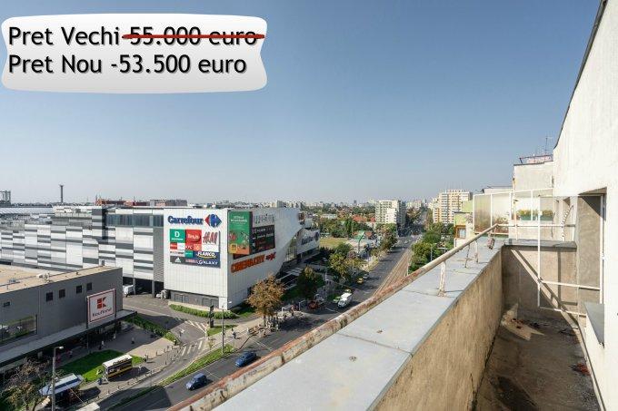 Duplex de vanzare in Bucuresti cu 2 camere, cu 1 grup sanitar, suprafata utila 57 mp. Pret: 53.500 euro. Usa intrare: Metal. Usi interioare: Panel.