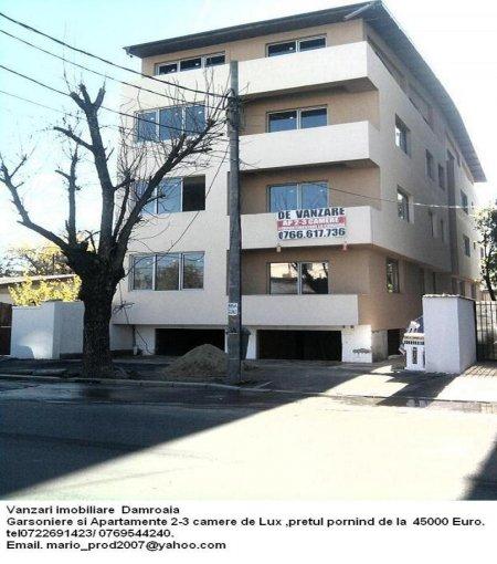 dezvoltator imobiliar vand apartament decomandata, in zona Damaroaia, orasul Bucuresti