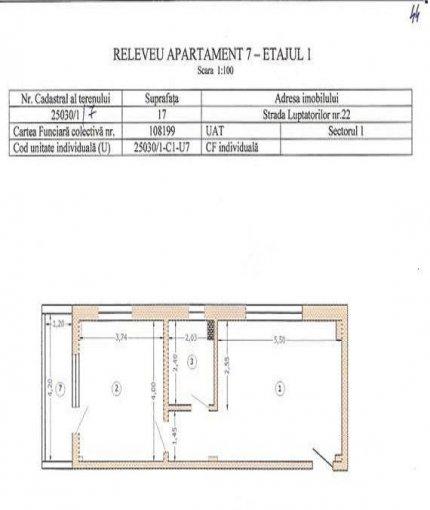 Apartament cu 2 camere de vanzare, confort Lux, zona Damaroaia,  Bucuresti