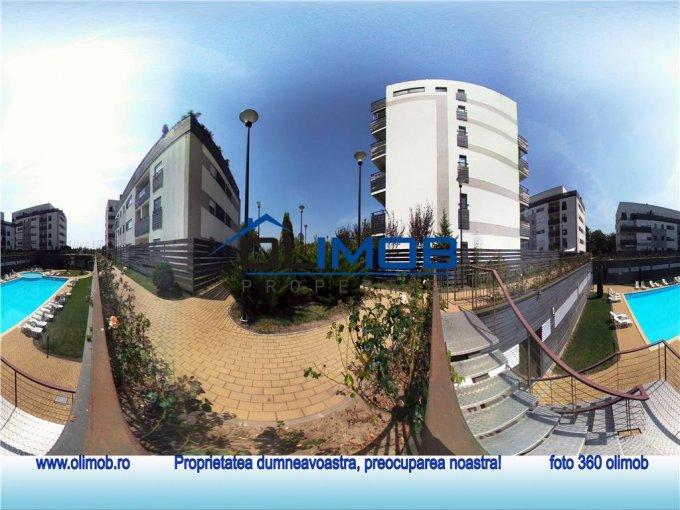 inchiriere Apartament Bucuresti cu 3 camere, cu 3 grupuri sanitare, suprafata utila 100 mp. Pret: 950 euro.