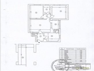 vanzare apartament semidecomandat, zona Domenii, orasul Bucuresti, suprafata utila 61 mp