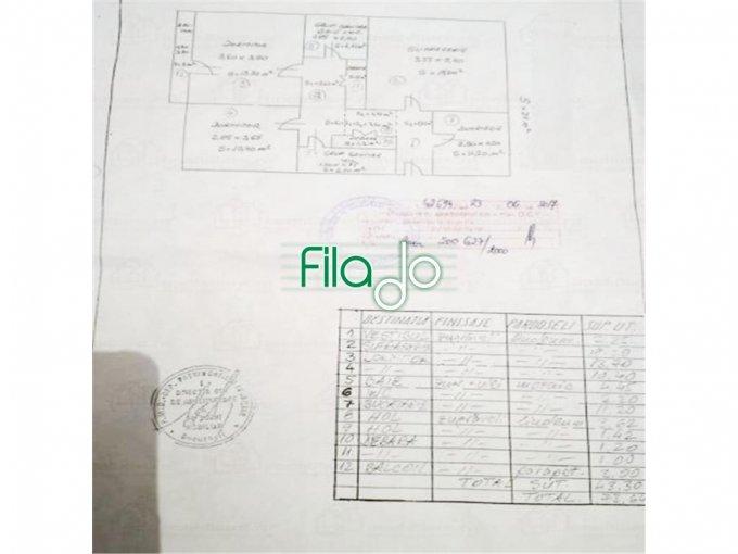 Apartament de vanzare direct de la agentie imobiliara, in Bucuresti, in zona Mihai Bravu, cu 97.000 euro. 2 grupuri sanitare, suprafata utila 71 mp.