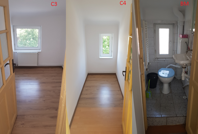 Apartament de inchiriat direct de la proprietar, in Bucuresti, in zona Piata Galati, cu 360 euro negociabil. 1 grup sanitar, suprafata utila 61 mp.