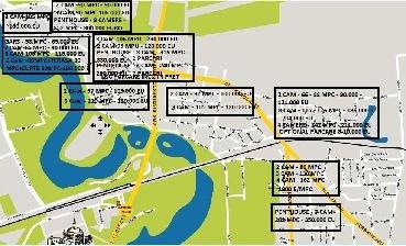 vanzare apartament cu 3 camere, decomandata, in zona 1 Mai, orasul Bucuresti