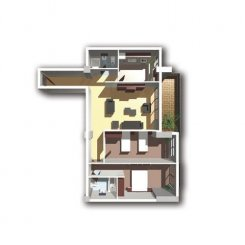 vanzare apartament decomandat, zona Theodor Pallady, orasul Bucuresti, suprafata utila 103 mp
