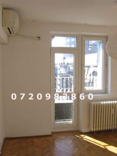 Apartament de inchiriat in Bucuresti cu 4 camere, cu 2 grupuri sanitare, suprafata utila 80 mp. Pret: 550 euro.