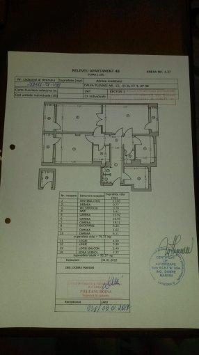 vanzare Apartament Bucuresti cu 4 camere, cu 2 grupuri sanitare, suprafata utila 86 mp. Pret: 110.000 euro negociabil. Incalzire: Centrala proprie a cladirii. Racire: Aer conditionat.