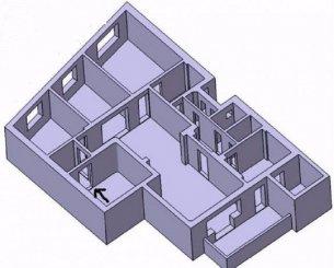 vanzare apartament cu 4 camere, semidecomandat, orasul Bucuresti