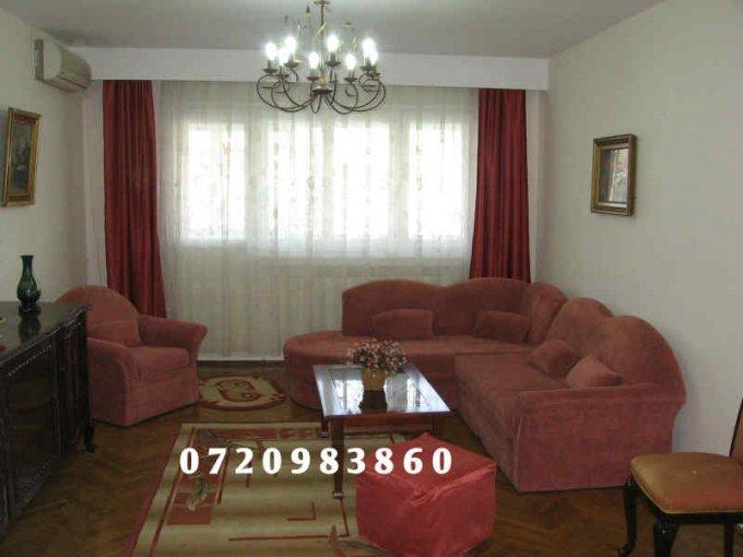 Apartament inchiriere Bucuresti 4 camere, suprafata utila 120 mp, 2 grupuri sanitare, 2  balcoane. 700 euro. Etajul 3 / 6. Apartament Piata Victoriei Bucuresti