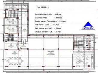 inchiriere Birou 10 camere, in zona Colentina, orasul Bucuresti, suprafata utila 700 mp