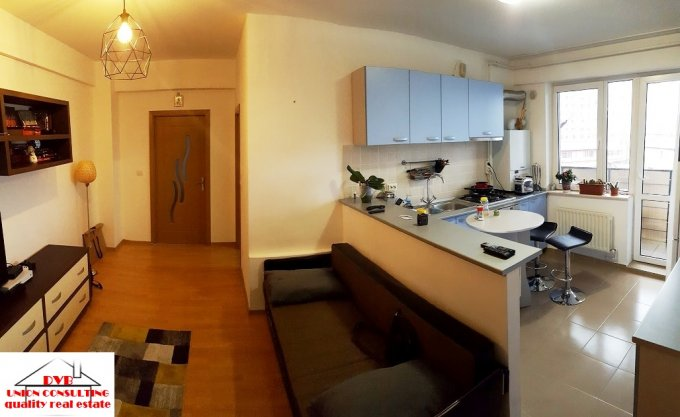 Garsoniera de vanzare direct de la agentie imobiliara, in Bucuresti, zona Titan, cu 79.000 euro. 1  balcon, 1 grup sanitar, suprafata utila 64 mp.