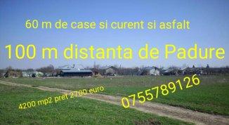 proprietar vand Teren agricol in suprafata de 4200 metri patrati, orasul Bucuresti