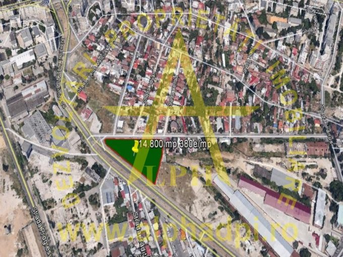 agentie imobiliara vand teren intravilan in suprafata de 14800 metri patrati, amplasat in zona Tudor Vladimirescu, orasul Bucuresti