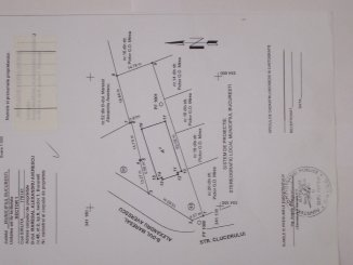 proprietar vand teren intravilan in suprafata de 903.9 metri patrati, amplasat in zona Arcul de Triumf, orasul Bucuresti
