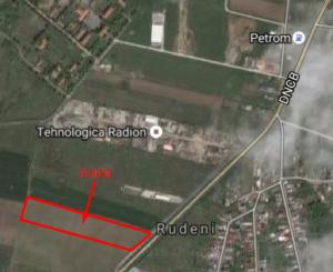proprietar vand teren intravilan in suprafata de 14000 metri patrati, amplasat in zona Chitila, orasul Bucuresti