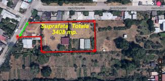 proprietar vand teren intravilan in suprafata de 3408 metri patrati, amplasat in zona Rahova, orasul Bucuresti