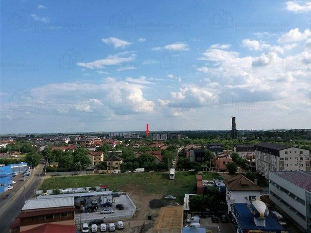 vedere panoramica din bulevardul Turnu Magurele colt cu bulevardul Brancoveanu catre terenul de vanzare zona Postalionului