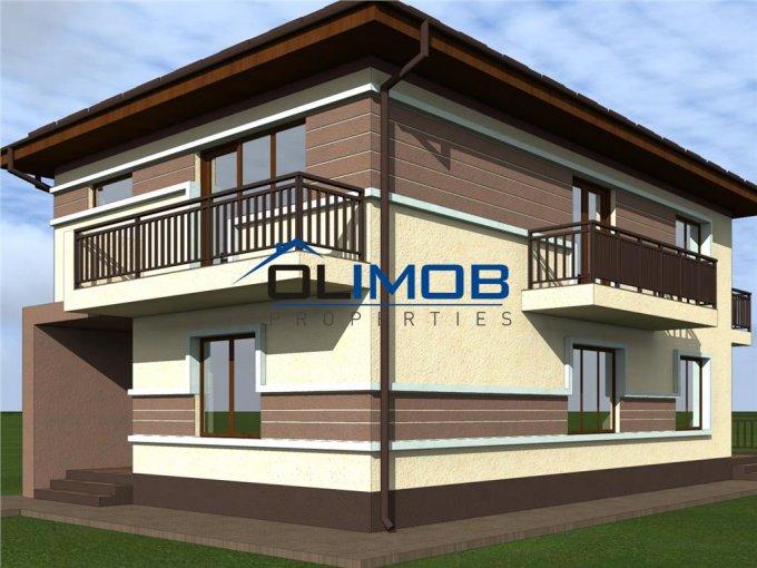 Vila cu 5 camere, 1 etaj, cu suprafata utila de 163 mp, 3 grupuri sanitare. 165.000 euro. Vila Voluntari  Bucuresti