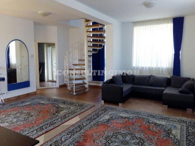 Fundeni Bucuresti vila cu 4 camere, 1 etaj, 2 grupuri sanitare, cu suprafata utila de 150 mp, suprafata teren 75 mp si deschidere de 12 metri. In orasul Bucuresti, zona Fundeni. Semi-mobilata.