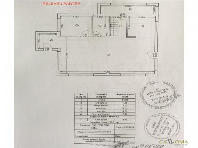 Bucuresti Otopeni, zona 23 August, vila cu 4 camere de vanzare de la agentie imobiliara