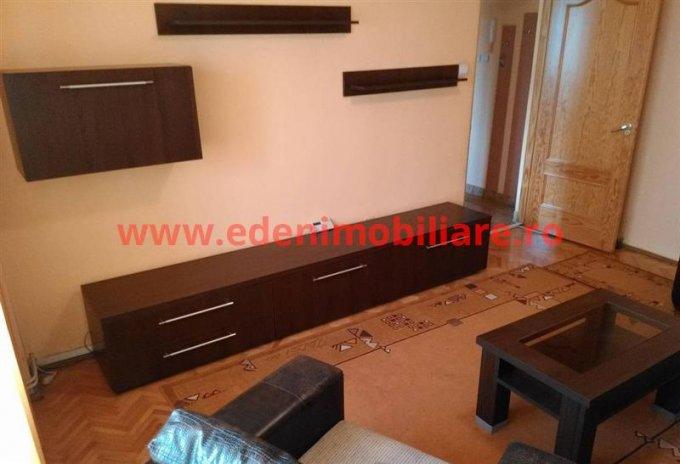 Apartament de inchiriat direct de la agentie imobiliara, in Cluj Napoca, in zona Marasti, cu 450 euro. 2 grupuri sanitare, suprafata utila 75 mp.