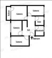 Apartament cu 4 camere de vanzare, confort 1, zona Gheorgheni,  Cluj Napoca Cluj