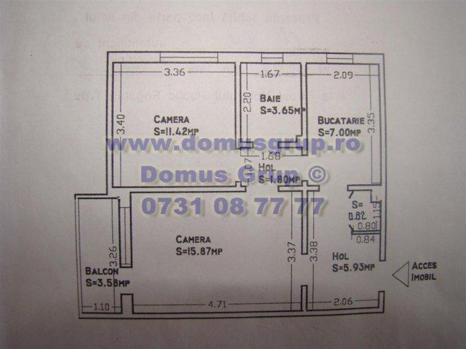agentie imobiliara vand apartament semidecomandat-circular, in zona Salvare, orasul Constanta
