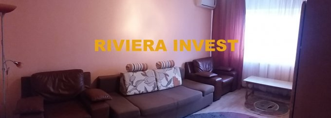 Apartament de inchiriat in Constanta cu 2 camere, cu 1 grup sanitar, suprafata utila 48 mp. Pret: 250 euro. Usa intrare: Metal. Mobilat modern.