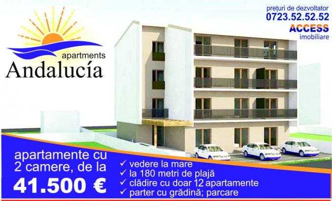 Apartament vanzare Mamaia Nord cu 2 camere, la Parter / 2, 1 grup sanitar, cu suprafata de 53.46 mp. Constanta, zona Mamaia Nord.