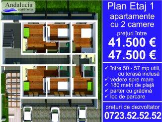 agentie imobiliara vand apartament semidecomandat, in zona Mamaia Nord, orasul Constanta