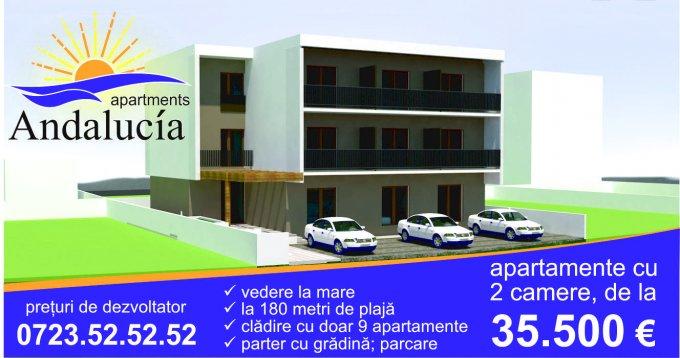 Apartament de vanzare direct de la agentie imobiliara, in Constanta, in zona Mamaia Nord, cu 35.500 euro. 1  balcon, 1 grup sanitar, suprafata utila 38 mp.
