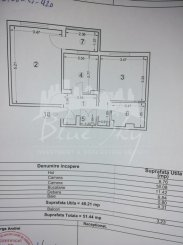 vanzare apartament decomandat, zona Far, orasul Constanta, suprafata utila 53 mp