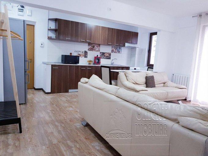 Apartament de inchiriat in Constanta cu 2 camere, cu 1 grup sanitar, suprafata utila 48 mp. Pret: 350 euro. Usa intrare: Metal. Mobilat modern.