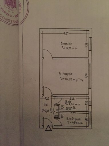 Apartament vanzare Constanta 2 camere, suprafata utila 41 mp, 1 grup sanitar. 49.000 euro. La Parter / 4. Destinatie: Rezidenta, Vacanta. Apartament Tomis Nord Constanta