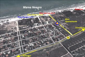 vanzare apartament decomandat, localitatea Mamaia Nord, suprafata utila 56 mp