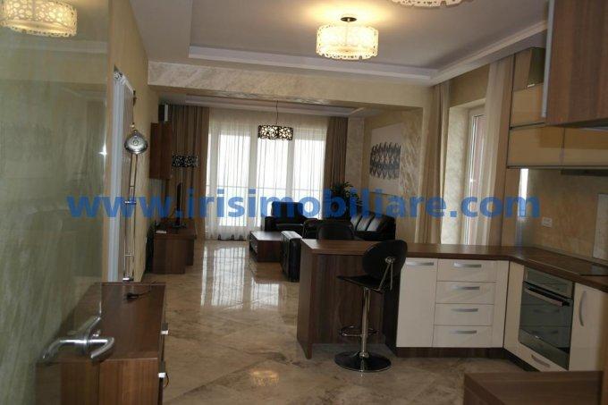 Apartament de inchiriat in Constanta cu 2 camere, cu 1 grup sanitar, suprafata utila 140 mp. Pret: 1.000 euro. Mobilat lux.