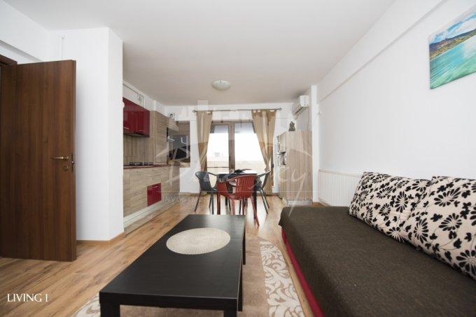 Apartament inchiriere Mamaia Nord cu 2 camere, etajul 3, 1 grup sanitar, cu suprafata de 52 mp. Constanta, zona Mamaia Nord.