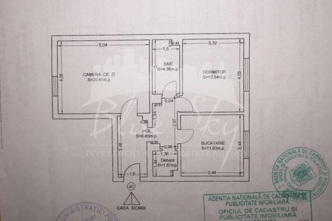 Apartament vanzare Constanta 2 camere, suprafata utila 75 mp, 1 grup sanitar. 60.000 euro negociabil. La Parter. Apartament Pod Butelii Constanta