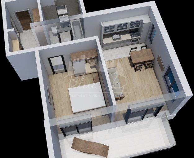 vanzare Apartament Constanta cu 2 camere, cu 1 grup sanitar, suprafata utila 66 mp. Pret: 55.900 euro negociabil.