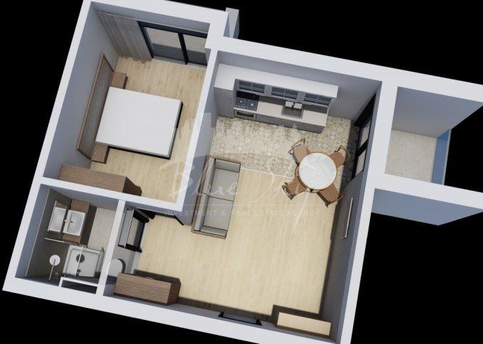 Apartament de vanzare direct de la agentie imobiliara, in Constanta, in zona Mamaia Nord, cu 44.900 euro negociabil. 1 grup sanitar, suprafata utila 51 mp.