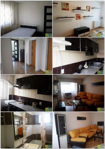 Apartament de inchiriat in Constanta cu 2 camere, cu 1 grup sanitar, suprafata utila 50 mp. Pret: 350 euro. Usa intrare: Metal. Mobilat modern.