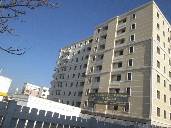 Apartament de vanzare in Constanta cu 3 camere, cu 2 grupuri sanitare, suprafata utila 61 mp. Pret: 59.500 euro. Usa intrare: Metal. Usi interioare: Lemn.