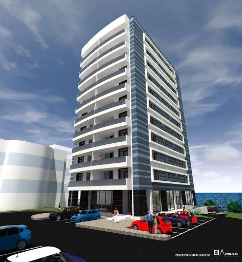 Apartament de vanzare in Constanta cu 3 camere, cu 2 grupuri sanitare, suprafata utila 104 mp. Pret: 115.000 euro.