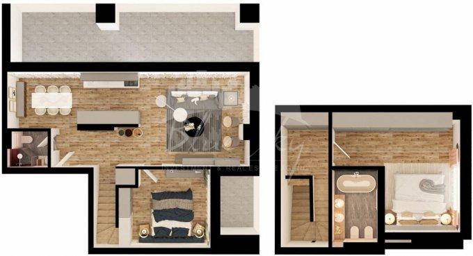 Apartament vanzare Campus cu 3 camere, etajul 5, 2 grupuri sanitare, cu suprafata de 161 mp. Constanta, zona Campus.