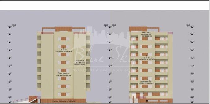vanzare Apartament Constanta cu 3 camere, cu 2 grupuri sanitare, suprafata utila 80 mp. Pret: 61.000 euro negociabil.