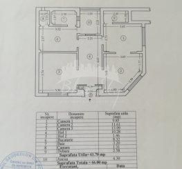 vanzare apartament decomandat, zona Centru, orasul Constanta, suprafata utila 75 mp