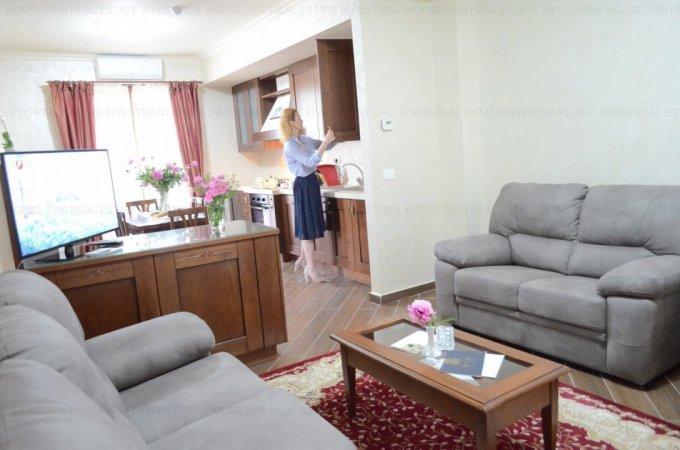 vanzare Apartament Constanta cu 3 camere, cu 2 grupuri sanitare, suprafata utila 65 mp. Pret: 180.000 euro. Incalzire: Centrala proprie a locuintei. Racire: Aer conditionat.