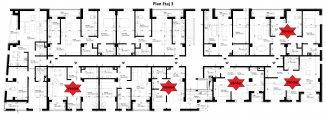 vanzare apartament cu 3 camere, semidecomandat, in zona Elvila, orasul Constanta